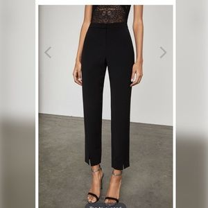 BCBG Kurra Dress Pants with Slit Black XS